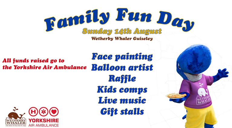 Wetherby Whaler Familiy Fun Day