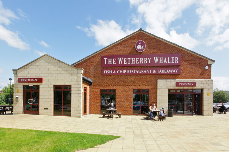 Wetherby Whaler Fish And Chip Restaurants In Yorkshire