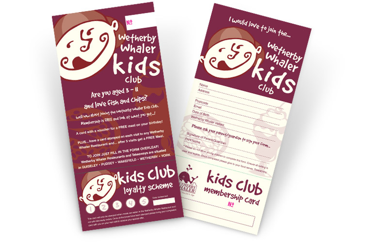 Kids Club Leaflet