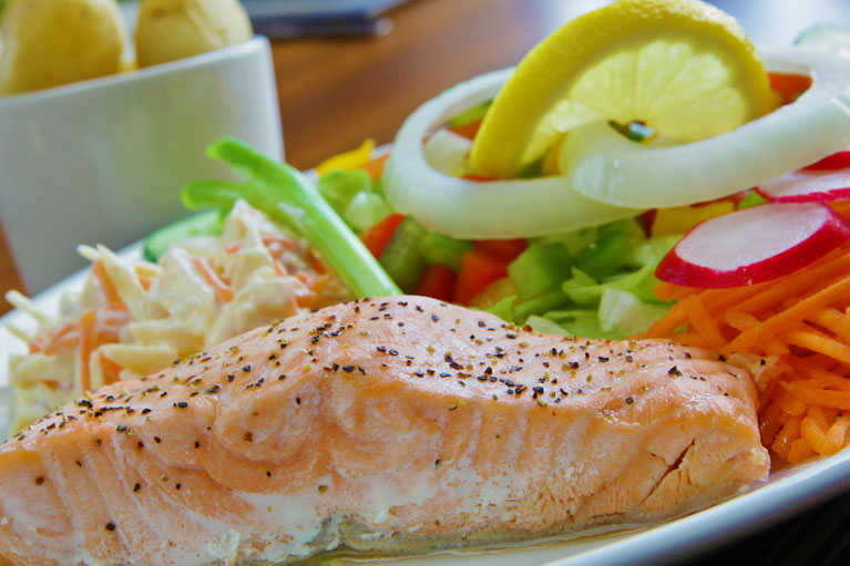 Wetherby Whaler Salmon Salad